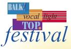 Het oude logo Vocallight TOPfestival