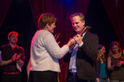 Chantal Sennema en Rogier IJmker - foto: Peter Roek