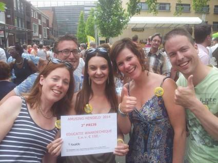 Winnaars van de tweede prijs NFVE: Quintella