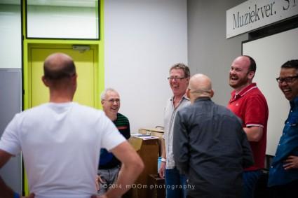 De Daltons bij de workshop met Peder Karlsson