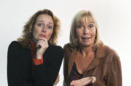 Marlous Luiten en Eva van Rooijen