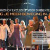 Workshop voor dirigenten over podiumpresentatie