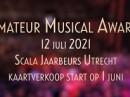Uitreiking Amateur Musical Awards 2021 voor live publiek op 12 juli